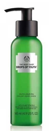 Merk Peeling Gel Terbaik - The Body Shop Drops of Youth Liquid Peel