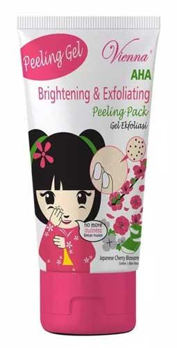 Merk Peeling Gel Terbaik - Vienna AHA Brightening & Exfoliating Peeling Gel