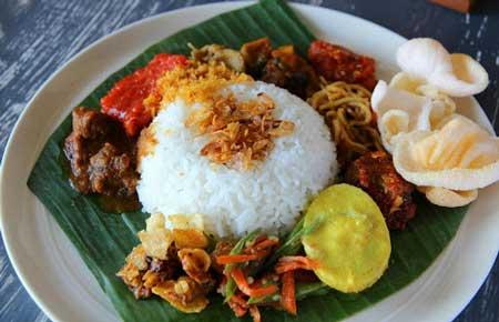 Nama Makanan Indonesia Yang Lucu - Nasi Kentut