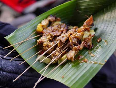 Nama Makanan Indonesia Yang Lucu - Sate Kere