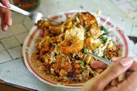 Nama Makanan Indonesia Yang Lucu - Tahu Gimbal
