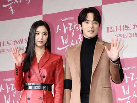 Pasangan Drama Korea Yang Paling Serasi - Kim Jung Hyun dan Seo Ji Hye