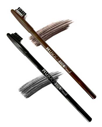 Pensil Alis Waterproof Terbaik - Mukka Eyebrow Pencil