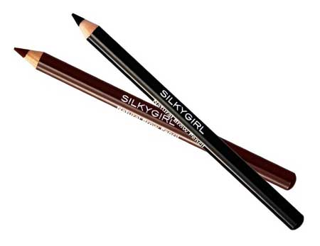 Pensil Alis Waterproof Terbaik - Silky Girl Natural Eyebrow