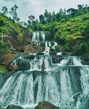 Tempat Wisata Alam Terbaik Di Jogja - Air Terjun Kedung Kandang