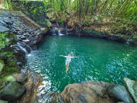 Tempat Wisata Alam Terbaik Di Jogja - Blue Lagoon Jogja