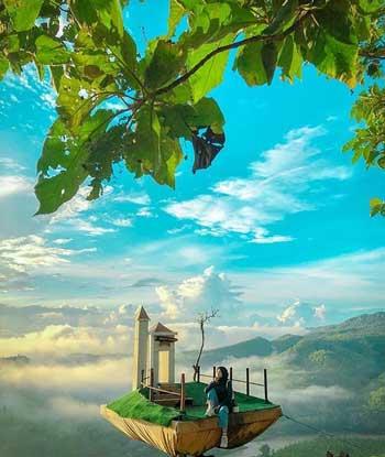 Tempat Wisata Alam Terbaik Di Jogja - Bukit Panguk