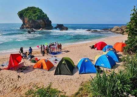 Tempat Wisata Alam Terbaik Di Jogja - Pantai Jungwok