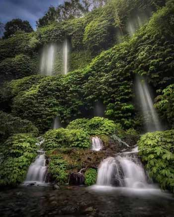 Tempat wisata alam terbaik di Lombok