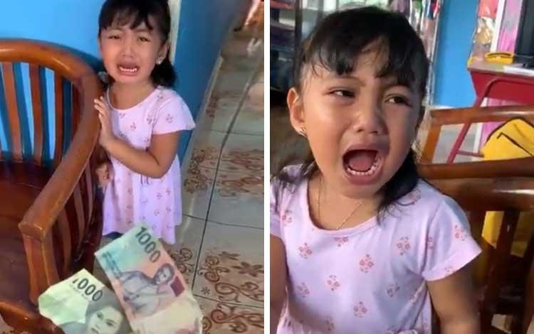 Viral!-Anak-Kecil-Takut-Dan-Menangis-Ketika-Diberikan-Uang