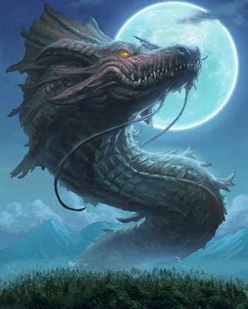 Berbagai Bentuk Naga Berdasarkan Mitos Yang Ada Di Dunia - Bakunawa