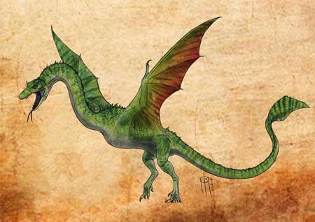 Berbagai Bentuk Naga Berdasarkan Mitos Yang Ada Di Dunia - Cuelebre