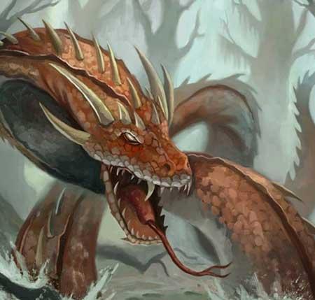 Berbagai Bentuk Naga Berdasarkan Mitos Yang Ada Di Dunia - Vritra