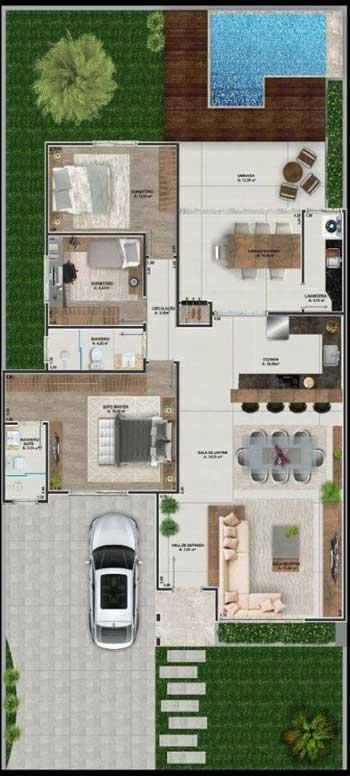 Desain Rumah Minimalis 3 Kamar - Rumah 11