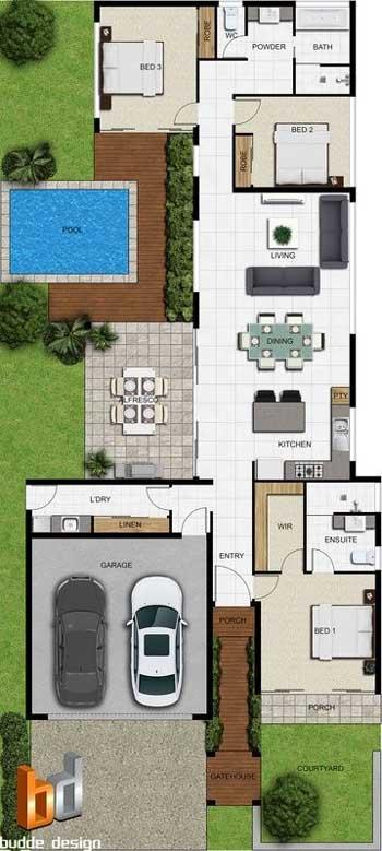 Desain Rumah Minimalis 3 Kamar - Rumah 12