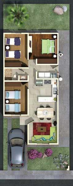 Desain Rumah Minimalis 3 Kamar - Rumah 13