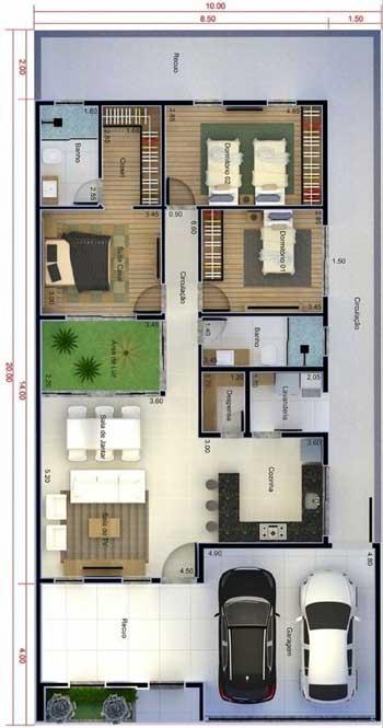 Desain Rumah Minimalis 3 Kamar - Rumah 14