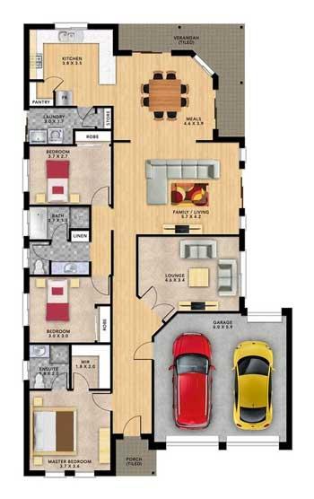 Desain Rumah Minimalis 3 Kamar - Rumah 2