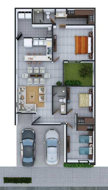 Desain Rumah Minimalis 3 Kamar - Rumah 5