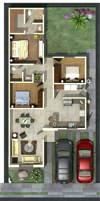 Desain Rumah Minimalis 3 Kamar - Rumah 7
