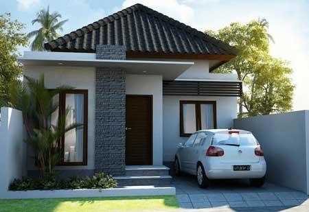 Desain Rumah Minimalis Modern Terbaru 2020 - Desain Rumah Lantai 1a