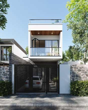 Desain Rumah Minimalis Modern Terbaru 2020 - Desain Rumah Lantai 2