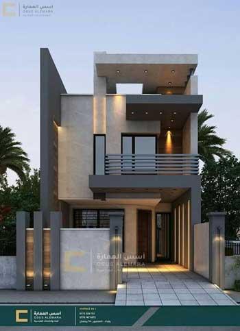Desain Rumah Minimalis Modern Terbaru 2020 - Desain Rumah Lantai 3