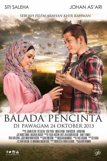 Film Romantis Malaysia - Balada Pencinta