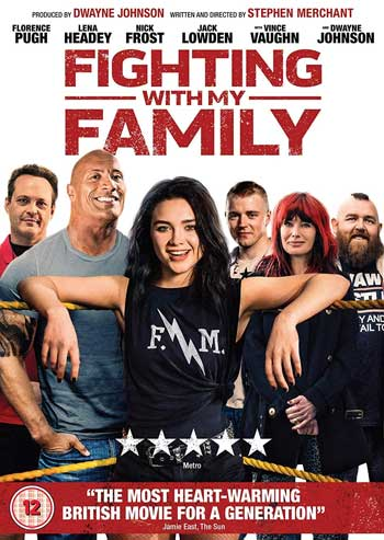 Film Terbaik Dawyne Johnson - Fighting with My Family