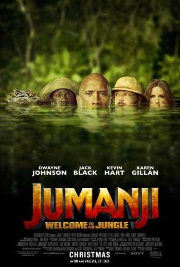 Film Terbaik Dawyne Johnson - Jumanji Welcome to the Jungle