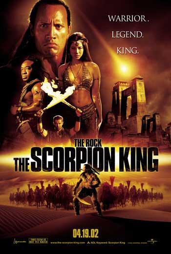 Film Terbaik Dawyne Johnson - The Scorpion King
