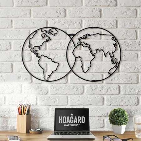 Hiasan Dinding Rumah - Hiasan Dinding Globe