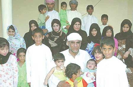Keluarga Dengan Jumlah Anak Terbanyak Di Dunia - Daad Mohammed
