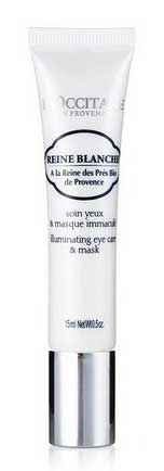 Masker Mata Yang Bagus - L'Occitane en Provence Reine Blanche Illuminating Eye Care & Mask