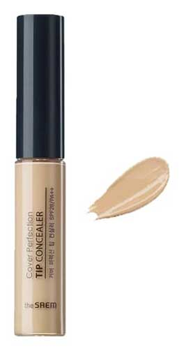 Merk Concealer Yang Bagus - The Saem Cover Perfection Tip Concealer