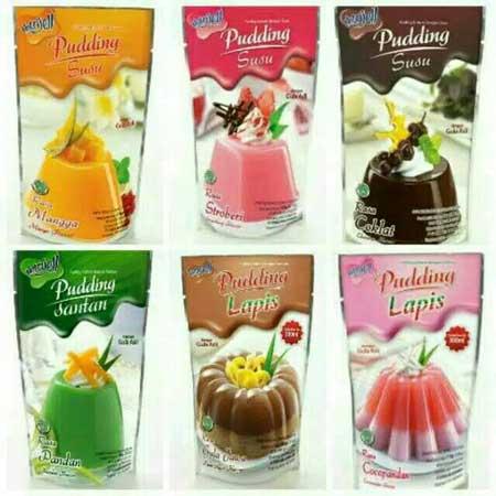 Merk Puding Yang Enak Dan Menyehatkan - Nutrijel Pudding