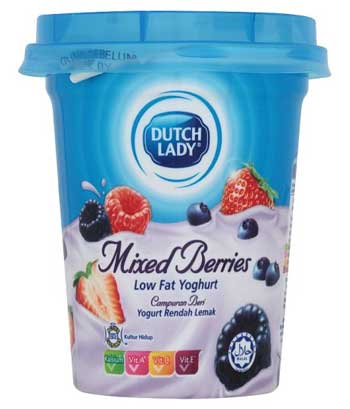 Merk Yougurt Terbaik - Dutch Lady Yogurt