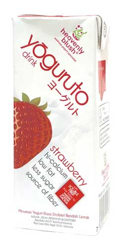 Merk Yougurt Terbaik - Heavenly Blush Yoguruto Drink