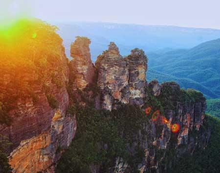 Tempat Wisata Terbaik Di Australia - Blue Mountains National Park