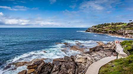 Tempat Wisata Terbaik Di Australia - Bondi to Bronte Walk
