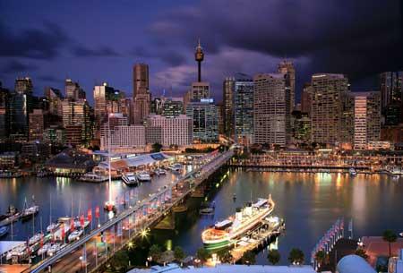 Tempat Wisata Terbaik Di Australia - Darling Harbour