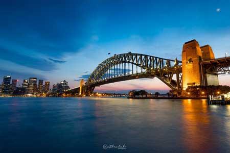Tempat Wisata Terbaik Di Australia - Jembatan Pelabuhan Sydney