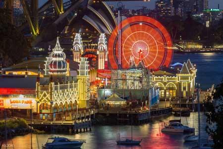 Tempat Wisata Terbaik Di Australia - Luna Park Sydney