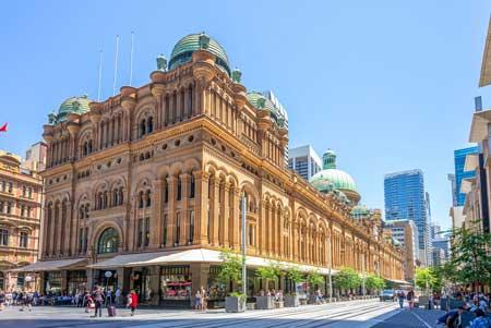 Tempat Wisata Terbaik Di Australia - Queen Victoria Building