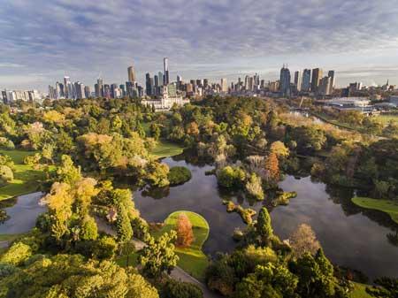 Tempat Wisata Terbaik Di Australia - Royal Botanic Gardens