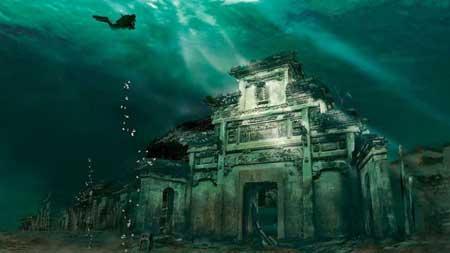 10 Destinasi Dengan Pemandangan Bawah Laut Terindah Di Dunia - Lion City Of QianDao Lake