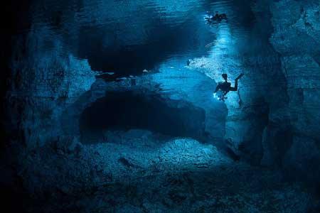 10 Destinasi Dengan Pemandangan Bawah Laut Terindah Di Dunia - Orda Cave, Ural Mountains