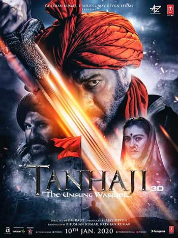 Film India Terbaru 2020 - Tanhaji: The Unsung Warrior