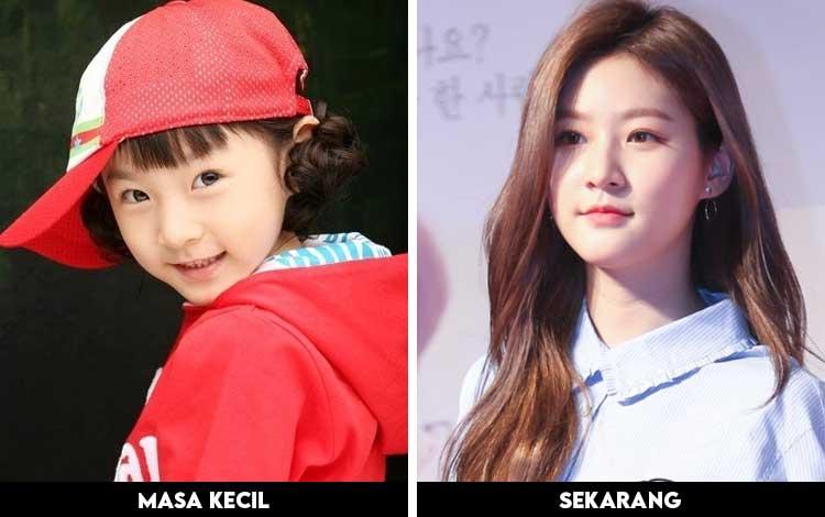 Foto Artis Korea Ketika Masih Kecil Dan Sekarang - Kim Sae Ron
