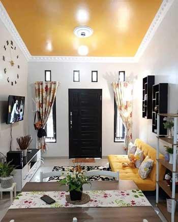 Inspirasi Desain Interior Ruang Tamu Minimalis - Ruang Tamu C